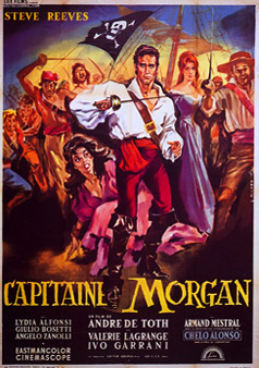 Filmographie Sir Henry Morgan